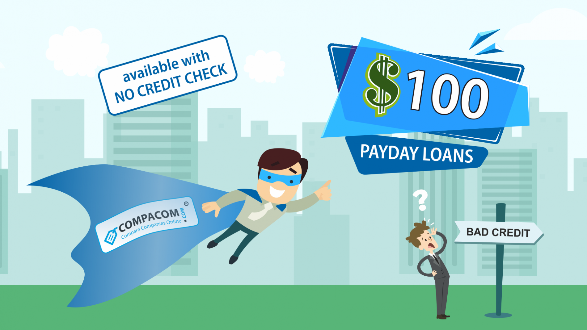Apply for a $100 Payday loan or compare lenders' offers online