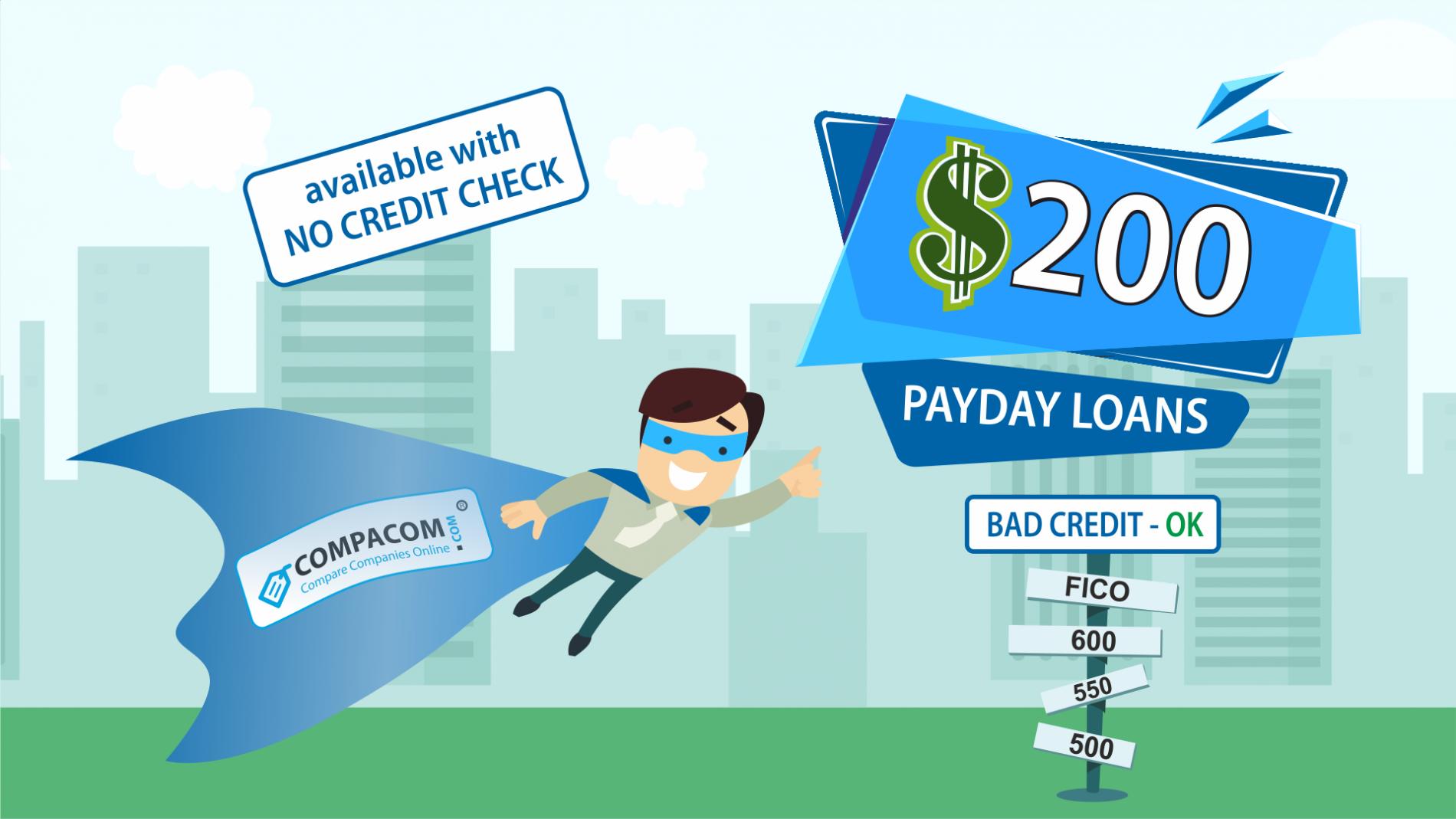 $200 Loan No Credit Check