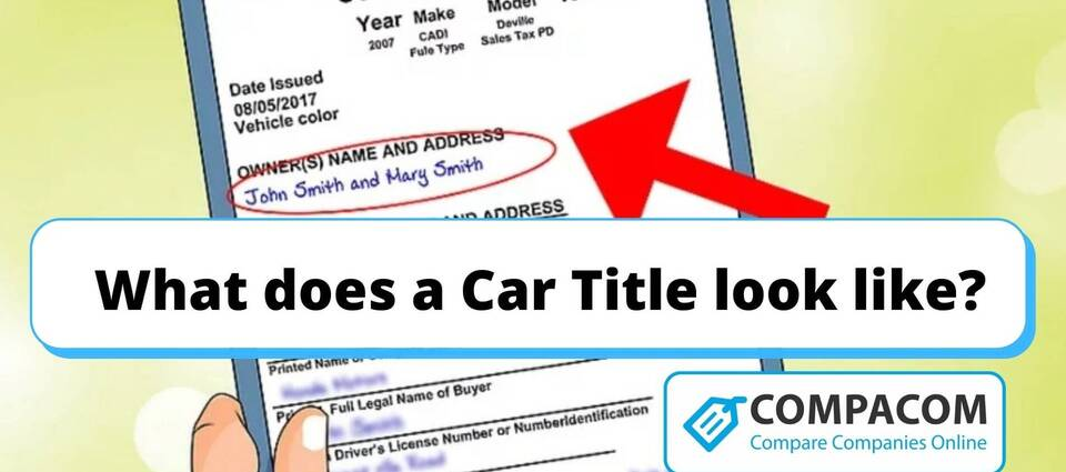 What does a Car Title look like?