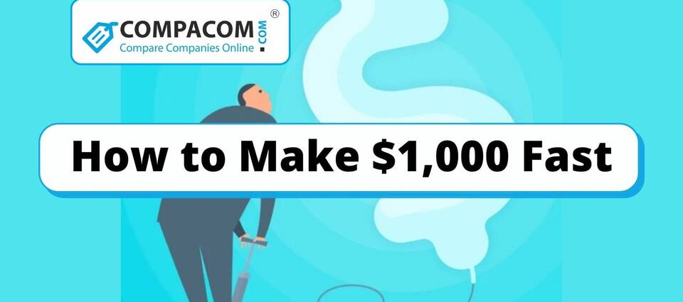 How to Make 1000 Dollars Fast?