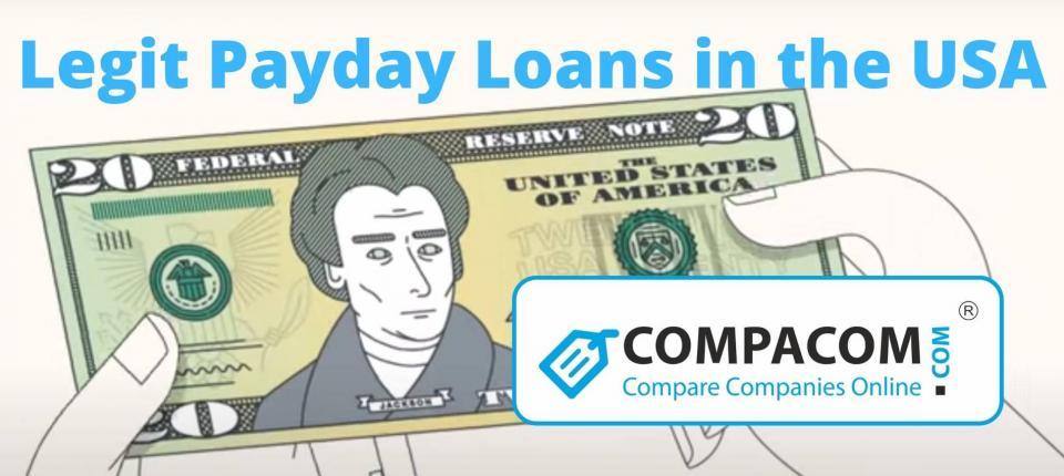 Legit Payday Loans