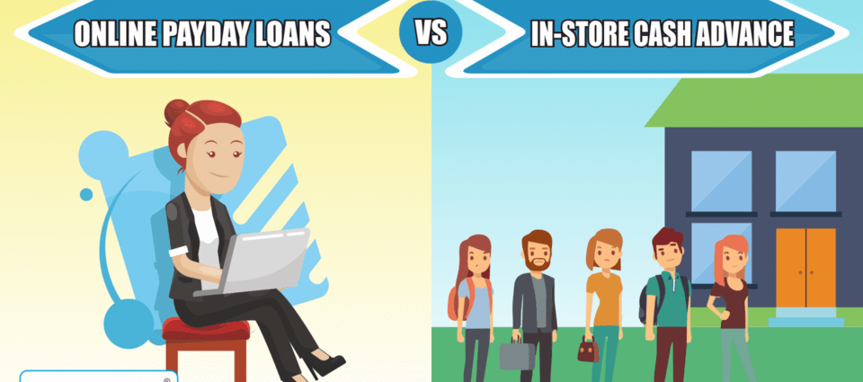 Payday Loans Online vs Loan Store Near Me