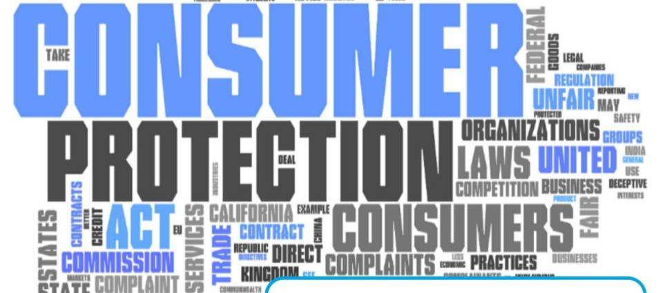 Protect yourself: Learn the Main Credit and Consumer Rights