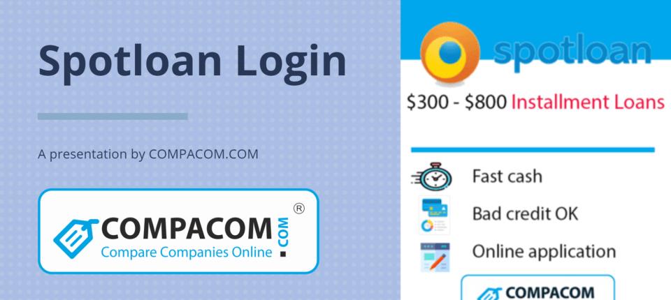Spotloan login