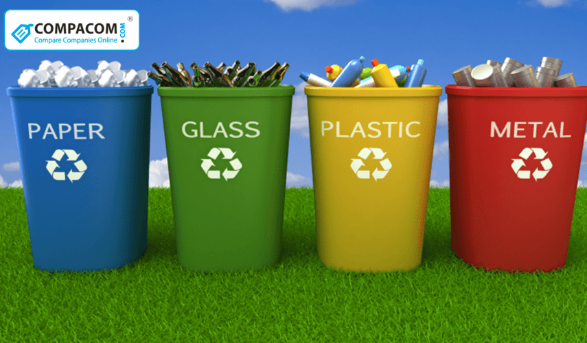 Electronics, Metal, Plastic, Aluminum cans and Other Materials Recycling: Benefits for the Environment