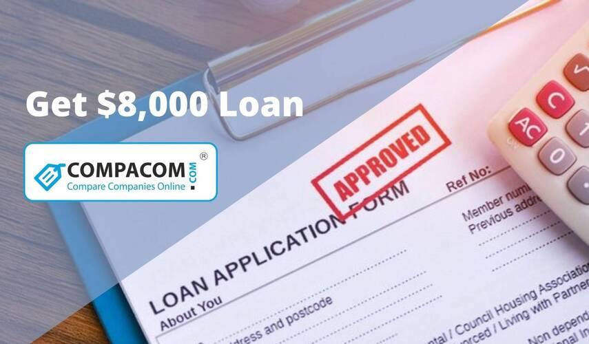 8000 Loan Bad Credit