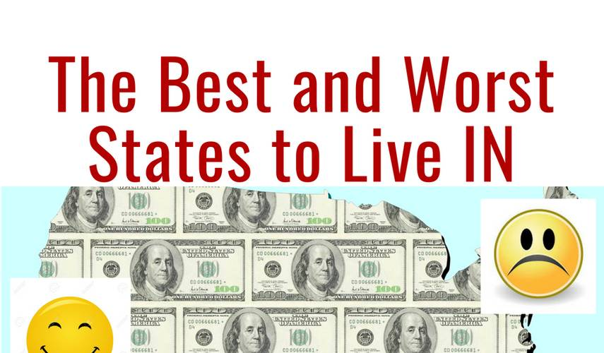 Which are the best and worst states to live in?