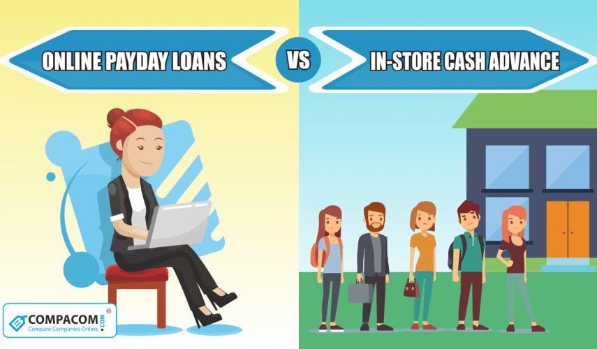 Payday Loans Online vs Loan Store Near Me