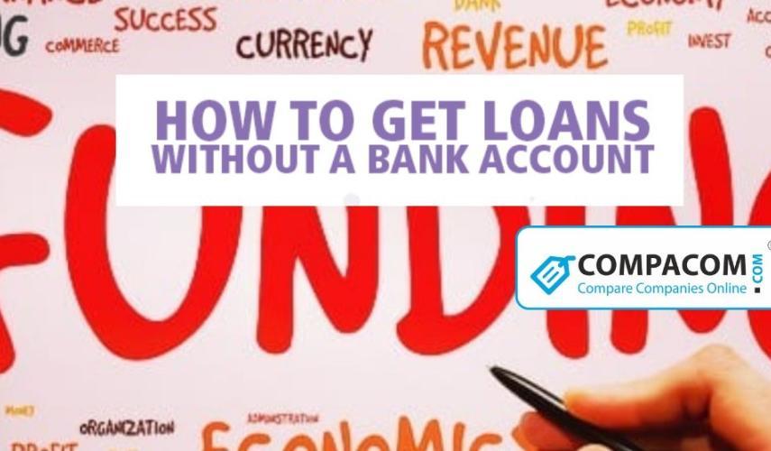 No Bank Account Loans