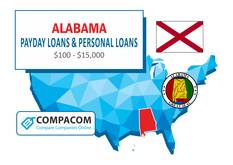Alabama Personal Loans up to $35,000 Online