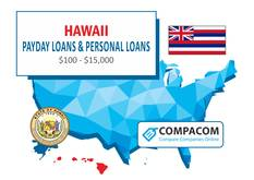 Hawaii Personal Loans up to $35,000 Online
