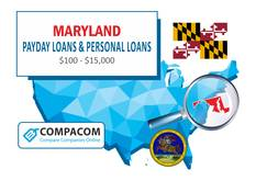Maryland Installment Loans up to $5,000