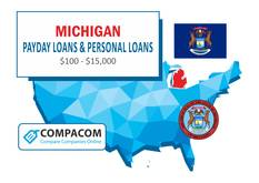 Michigan Personal Loans up to $35,000 Online