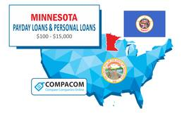 Payday Loans in Minnesota - Cash Advance for Bad Credit with NO Credit Check | COMPACOM – Compare Companies Online