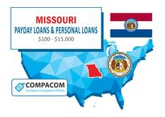 Payday Loans in Missouri - Cash Advance for Bad Credit with NO Credit Check | COMPACOM – Compare Companies Online