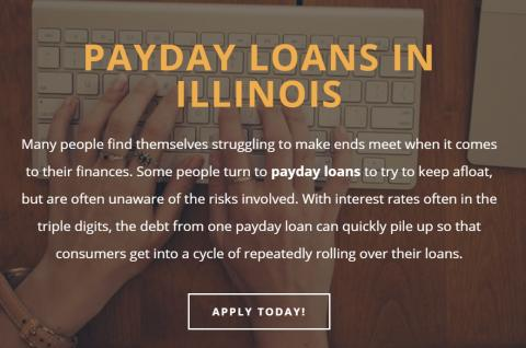 Payday Loans in Illinois