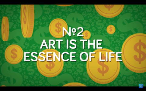 Art is the essence of life