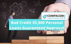 Apply for Guaranteed Personal Loans up to $5000