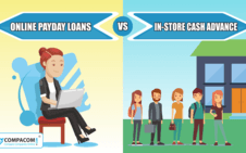 Online Payday Loans vs In-Store Cash Advance