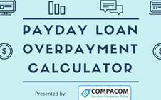 Calculate Payday Loan cost and pay only $1 interest a day